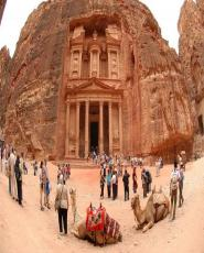 Petra & Wadi Rum in 2 Days to from Sharm