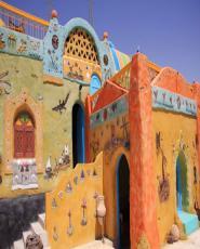 Nubian Village by Motorboat in Aswan