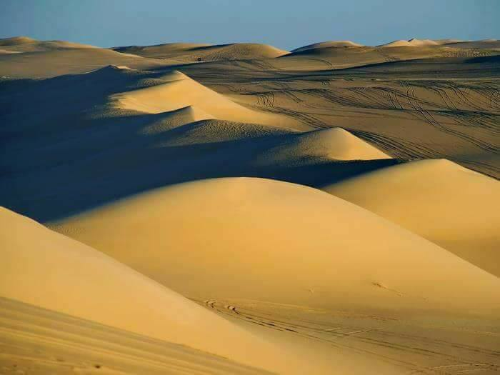 Explore the western desert
