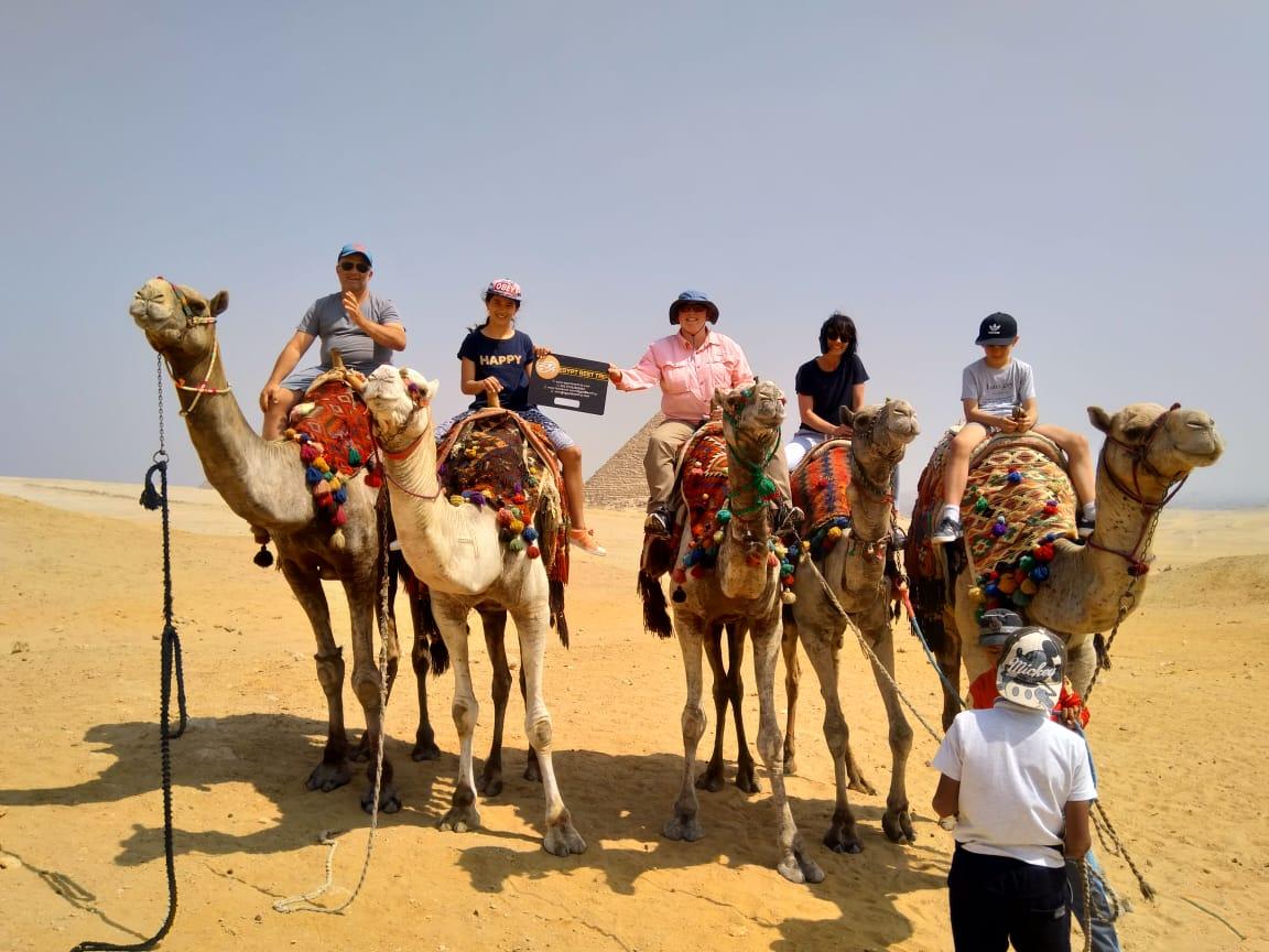 Camel or Horse ride around Giza pyramids