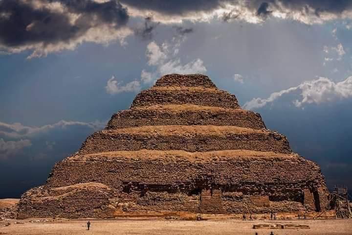 Giza & Sakkara Pyramids from Alexandria Port