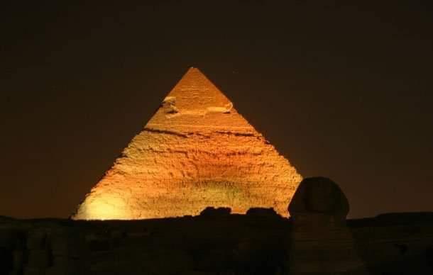 Sound & light show at Giza Pyramids